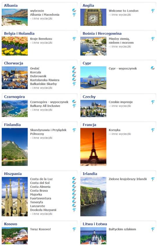 Wyjazdy na wakacje 2014