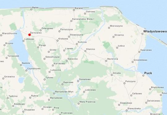 Żarnowiec Mapa